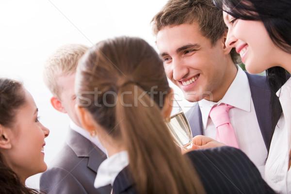 Celebração foto feliz colegas Foto stock © pressmaster