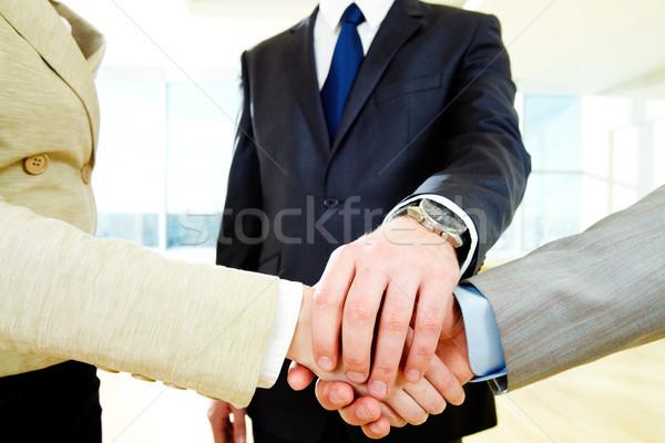 Affaires soutien photo gens d'affaires travaux handshake Photo stock © pressmaster