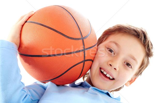 Jonge portret jongen basketbal Stockfoto © pressmaster