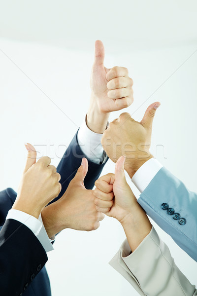 Thumbs up Stock photo © pressmaster