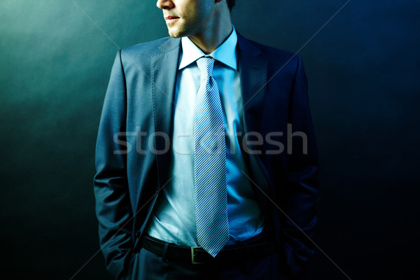 Man in suit Stock photo © pressmaster