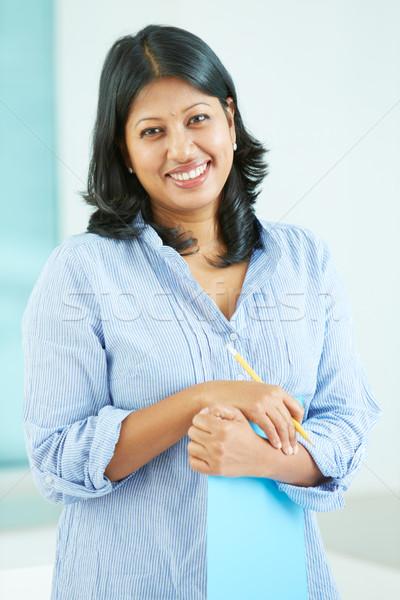 Happy businesswoman Stock photo © pressmaster
