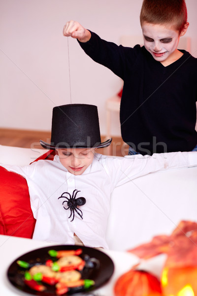 Spider trick Stock photo © pressmaster