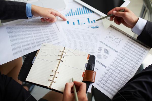 Planning work Stock photo © pressmaster
