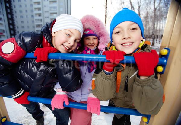 Happy friends Stock photo © pressmaster