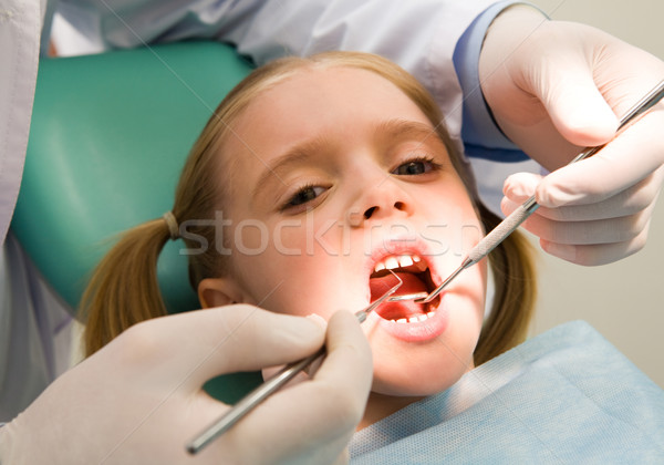 Child at the dentistry Stock photo © pressmaster