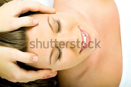 Stock photo: Face massage