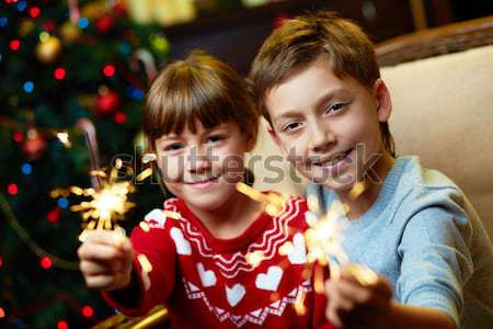 During cristmas Stock photo © pressmaster