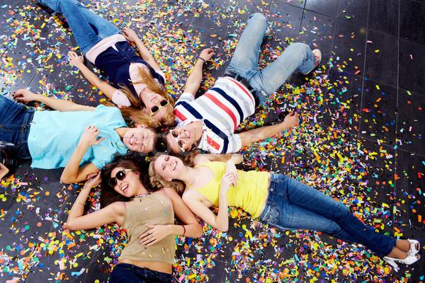 Company of friends Stock photo © pressmaster