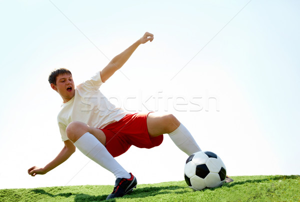 Energetic player Stock photo © pressmaster