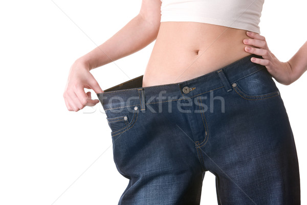 Stock photo: Successful diet