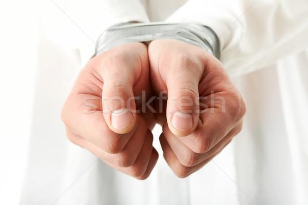 Bound hands Stock photo © pressmaster