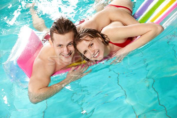 Nice время изображение счастливым пару глядя Сток-фото © pressmaster