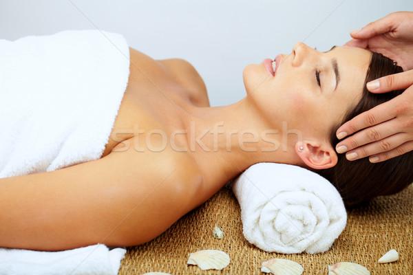 Massaging head  Stock photo © pressmaster