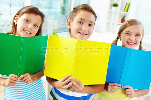 Cheerful learners Stock photo © pressmaster