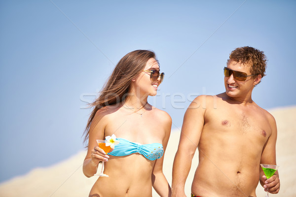 Summer party Stock photo © pressmaster