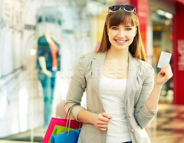 I pay by card Stock photo © pressmaster
