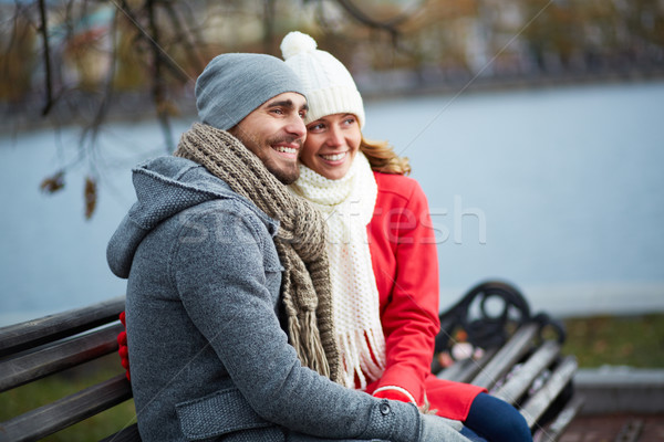 Restful couple Stock photo © pressmaster