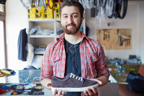 Selling footwear Stock photo © pressmaster