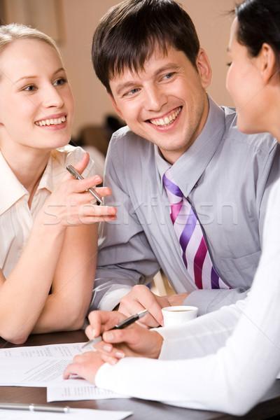 Business interaction Stock photo © pressmaster