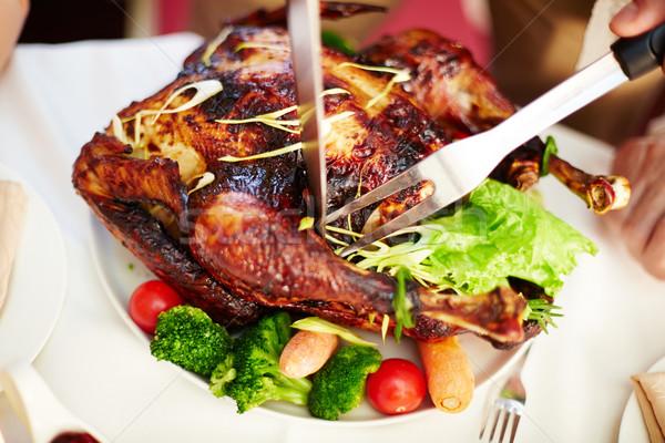 Stock fotó: Vág · hús · ízletes · pörkölt · Törökország · zöldségek