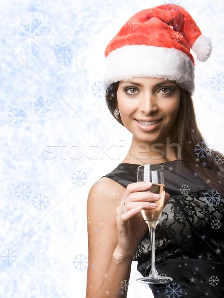 Charming Santa Stock photo © pressmaster