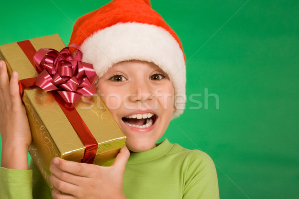 Mutluluk delikanlı kapak Stok fotoğraf © pressmaster