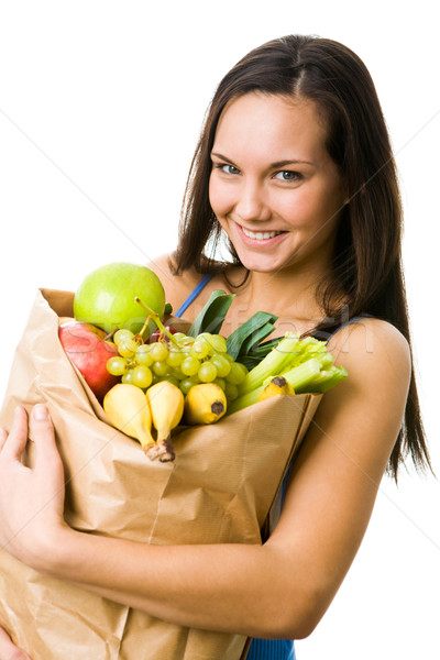 Healthy girl Stock photo © pressmaster
