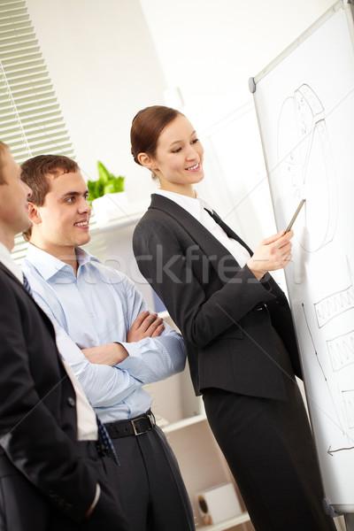 Stock photo: Economic plan