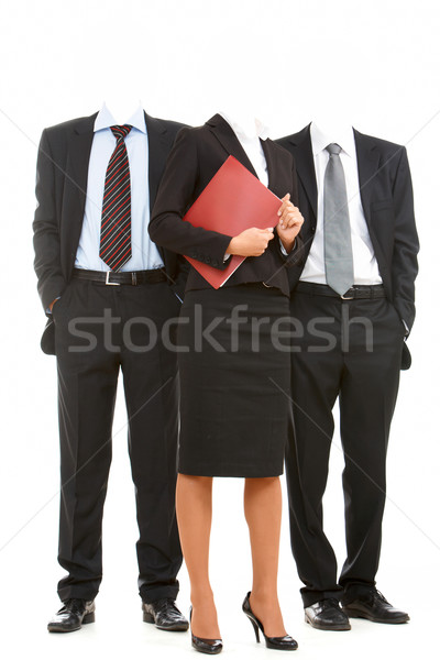 Stock photo: Team without heads