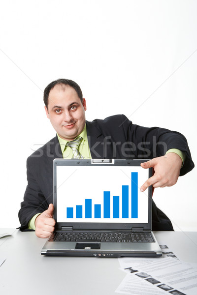 éxito negocios foto empleador Foto stock © pressmaster