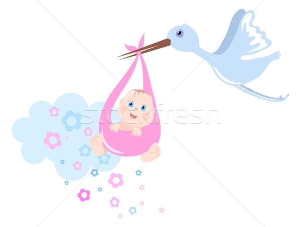 Stock photo: Birth