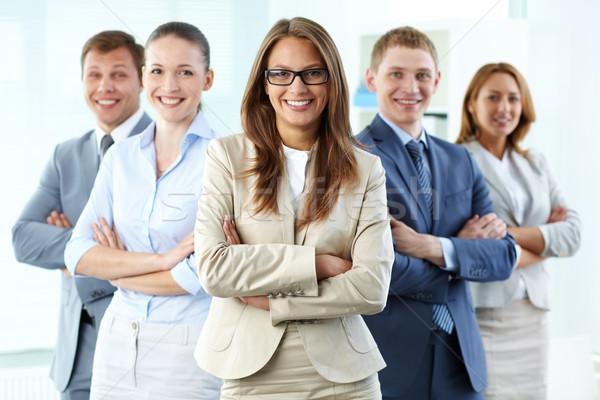 ビジネス リーダーシップ 肖像 5 見える ストックフォト © pressmaster