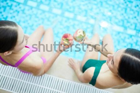 Stock photo: Beach nap