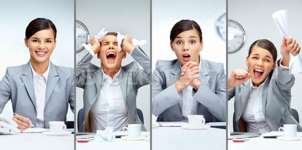 Businesswoman at work Stock photo © pressmaster