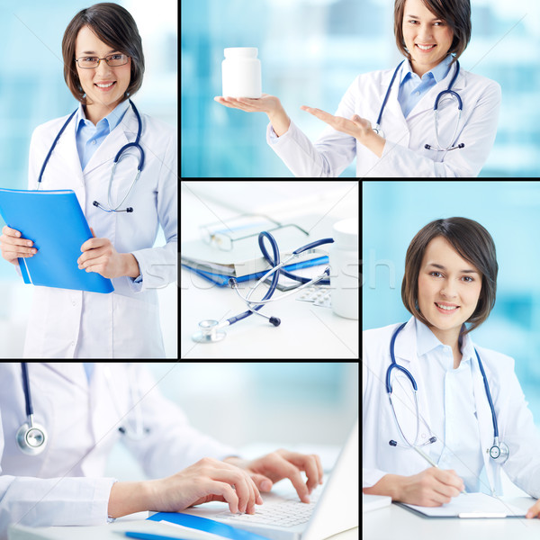 Clinician working Stock photo © pressmaster