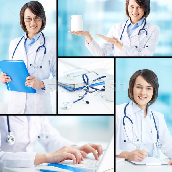 Clinician working Stock photo © pressmaster