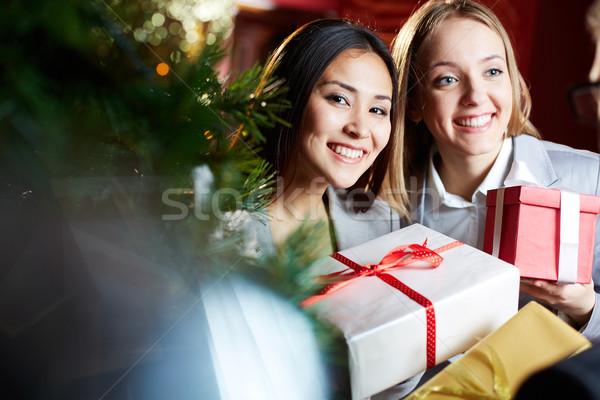 Happy females Stock photo © pressmaster