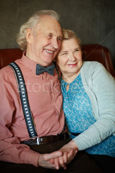 Restful seniors Stock photo © pressmaster
