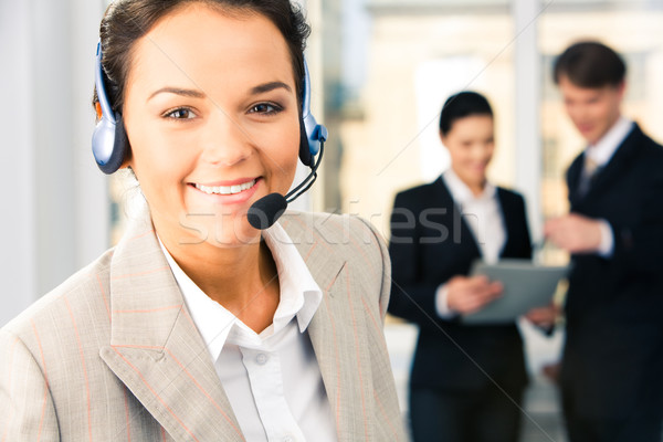 Customer support service  Stock photo © pressmaster