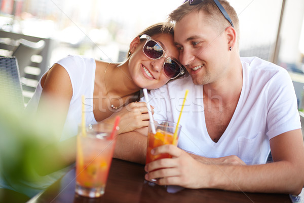 Paar jonge vent vriendin ontspannen Stockfoto © pressmaster