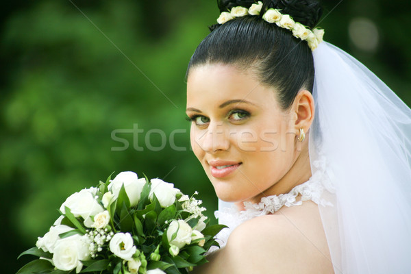 Beautiful bride Stock photo © pressmaster