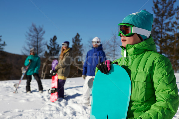 Mountain-skier Stock photo © pressmaster