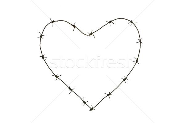 Barbed heart Stock photo © pressmaster
