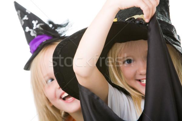 Scary and happy Stock photo © pressmaster