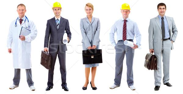 Społecznej pracowników kolaż kilka ludzi stwarzające Zdjęcia stock © pressmaster