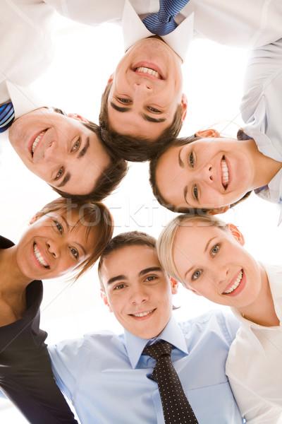 União abaixo ver feliz Foto stock © pressmaster