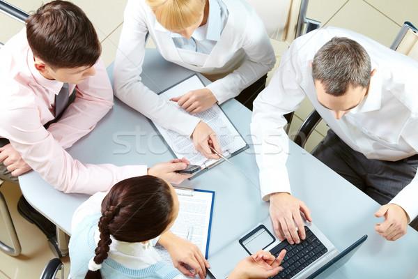 At meeting Stock photo © pressmaster