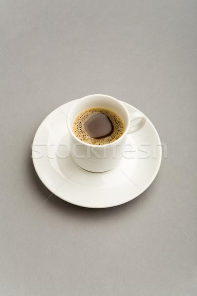 ブラックコーヒー 画像 カップ 強い 白 ストックフォト © pressmaster