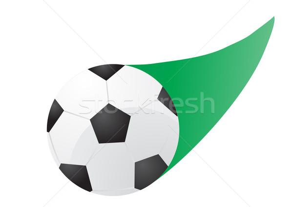 flying soccer ball     Stock photo © pressmaster